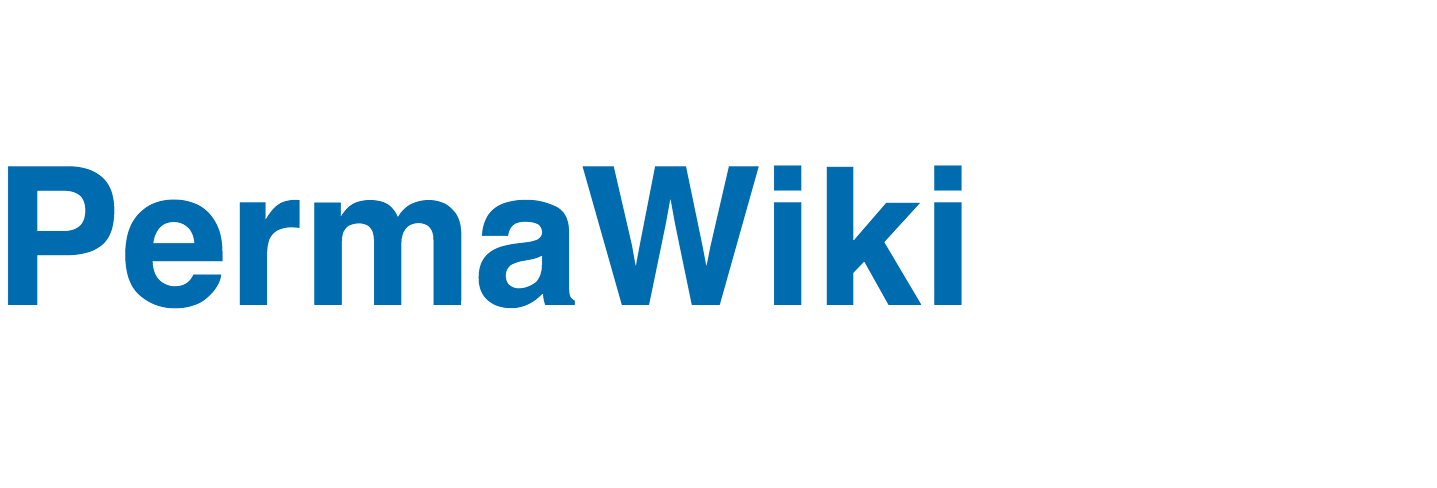 Logo of PermaWiki on Wikia.com