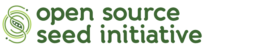 Logo of the Open Source Seed Initiative