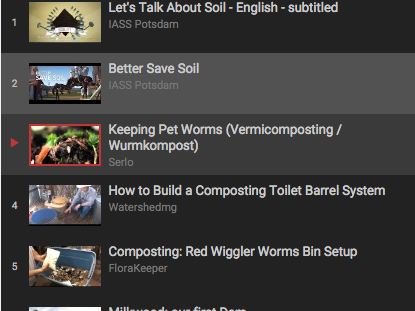 Permaculture Commons: Playlist of open videos on youtube.com